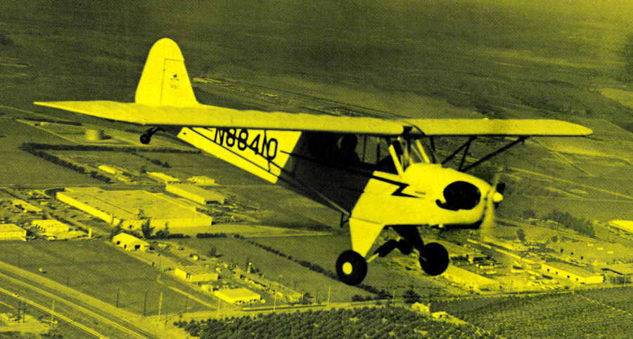 He'FlewSomeDuringTheWar'(3)(J-3Inflight)